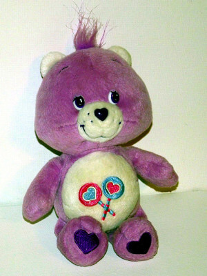 Care Bears Plushie: Share Bear (Partial Bean Bag)