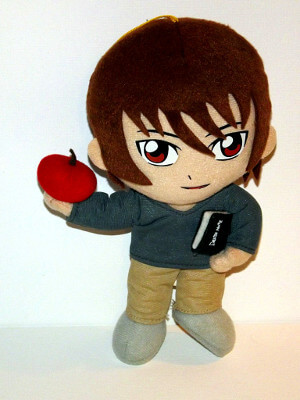 Death Note Plushie: 8¼