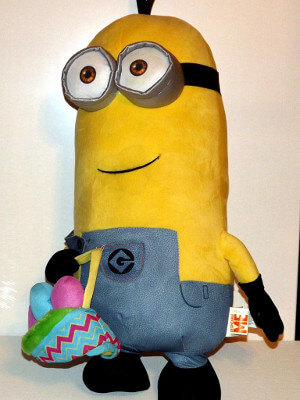 "Despicable Me Plushie: 26"" Kevin, Giant Easter Version"