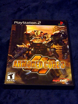 Playstation 2 Game: Armored Core 3