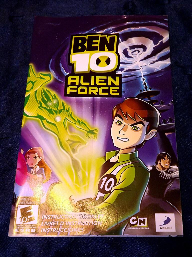 -=Chameleon's Den=- Playstation 2 Game: Ben 10 Alien Force