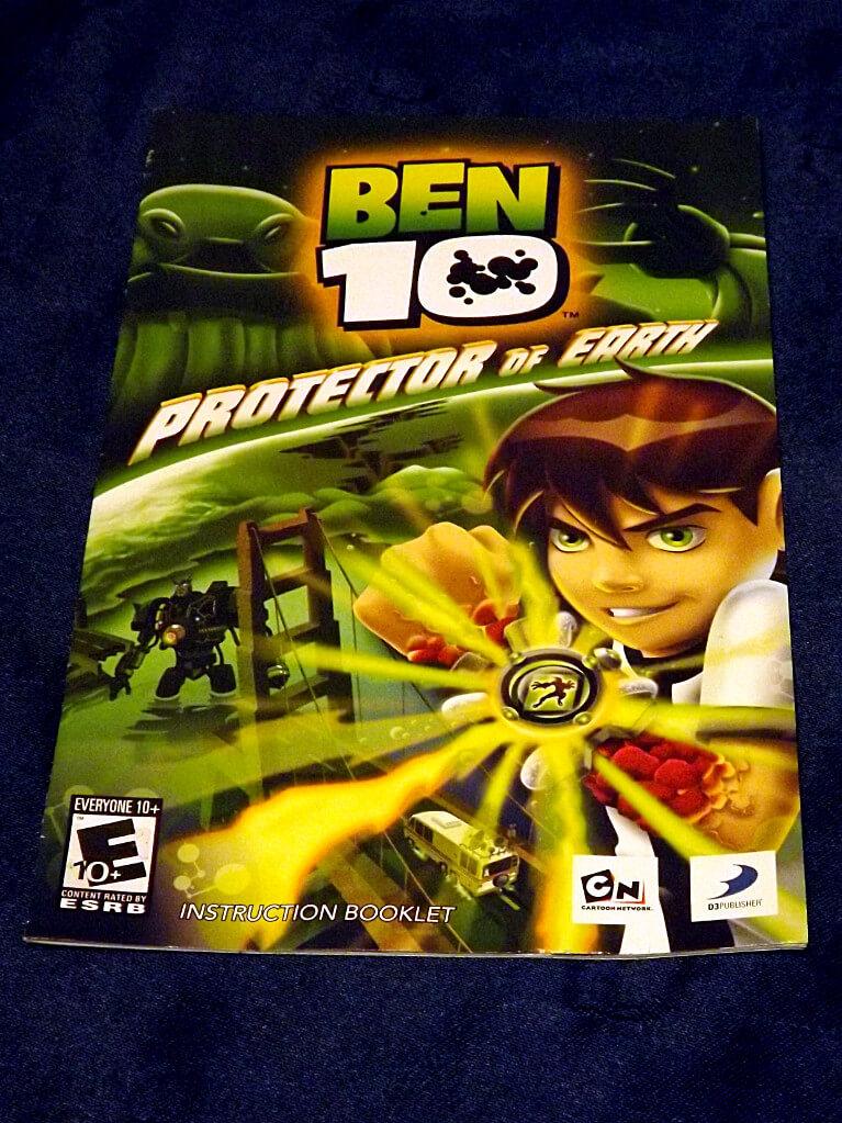 -=Chameleon's Den=- Playstation 2 Game: Ben 10 Protector ...