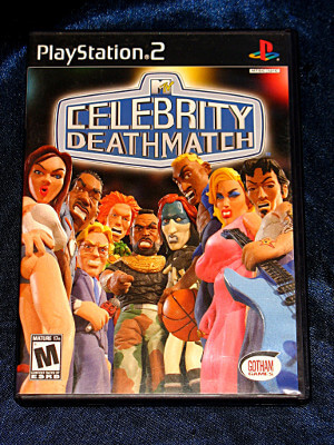 Playstation 2 Game: Celebrity Deathmatch