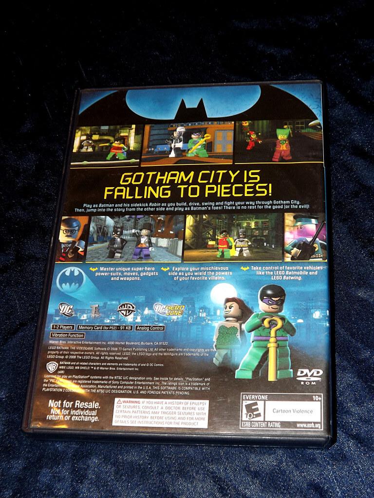 Chameleons Den Playstation 2 Game Lego Batman