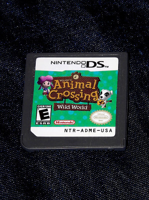 Nintendo DS Game: Animal Crossing Wild World