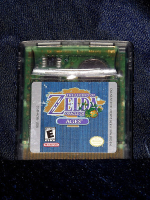 Nintendo Game Boy Color Game: The Legend of Zelda: Oracle of Ages