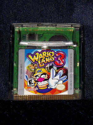 Nintendo Game Boy Color Game: Wario Land 3