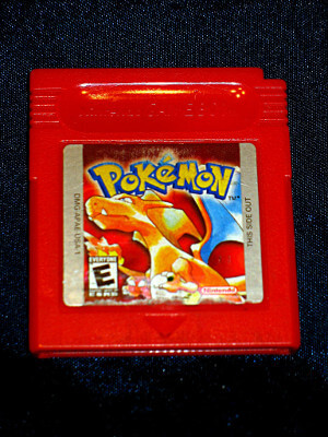 Nintendo Game Boy Game: Pokemon Red