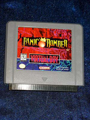 Nintendo Virtual Boy Game: Panic Bomber