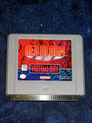 Nintendo Virtual Boy Game: Red Alarm