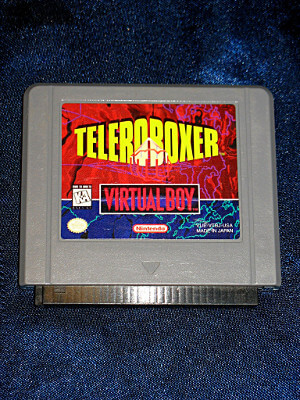 Nintendo Virtual Boy Game: Teleroboxer