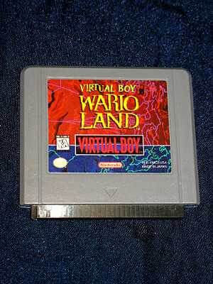 Nintendo Virtual Boy Game: Wario Land