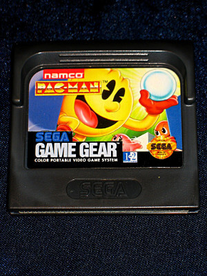 Sega Game Gear Game: Pac-man