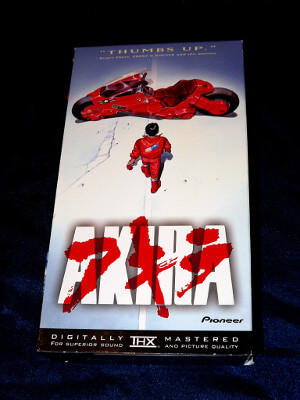 AKIRA VHS Tape: The Movie (Dubbed, Widescreen)