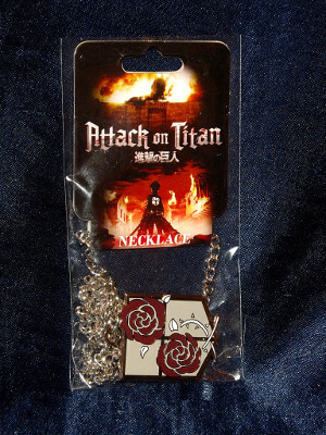 Attack on Titan Necklace: Stationary Guard Emblem (Metal)