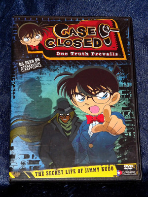 Case Closed DVD: Case 01, The Secret Life of Jimmy Kudo