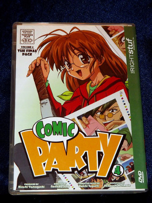 Comic Party DVD: Vol. 04, The Final Page