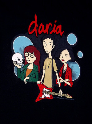 Daria T-Shirt: Daria, Trent and Jane (Women's Medium)