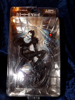 Death Note Action Figure: Season 1 Ryuk Action Figure (PVC)