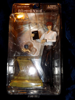 Death Note Action Figure: Season 1 Yagami Light Action Figure (PVC)