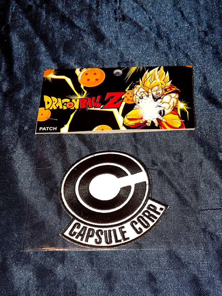 Capsule Corps Jacket Capsule Corp Clothing Patch