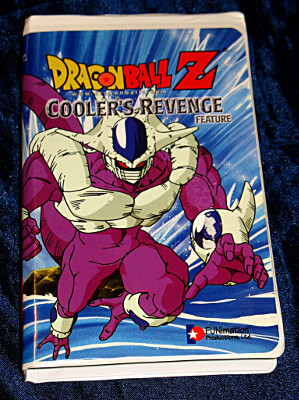 Dragon Ball Z VHS Tape: Cooler's Revenge (Dubbed)