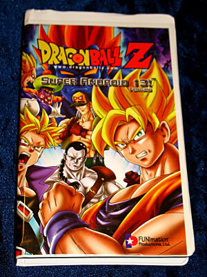 Dragon Ball Z VHS Tape: Super Android 13! (Dubbed)