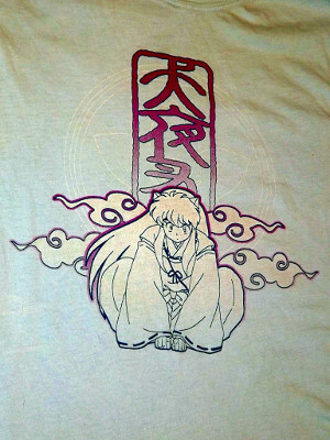 InuYasha T-Shirt: InuYasha (Women's Medium)