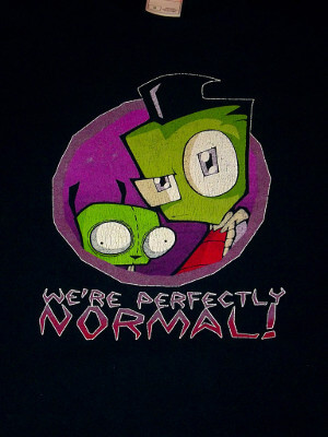 Invader Zim T-Shirt: We're Perfectly Normal! (Medium)