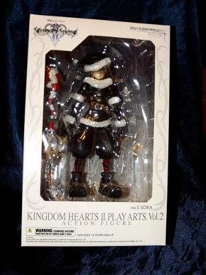 Kingdom Hearts II Action Figure: Christmas Sora, from Halloween Town