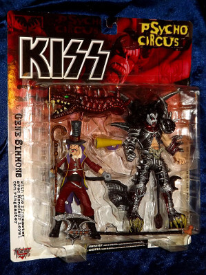 Kiss Action Figure: Gene Simmons with the Ringmaster