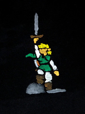 Legend of Zelda Fanart T-Shirt: Link (Medium)