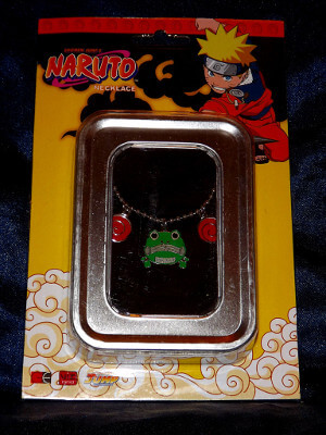 Naruto Necklace: Frog Wallet (Metal Charm)