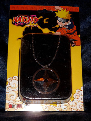 Naruto Necklace: Throwing Star