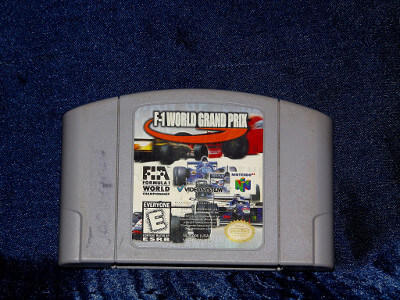 Nintendo 64 Game: F-1 World Grand Prix