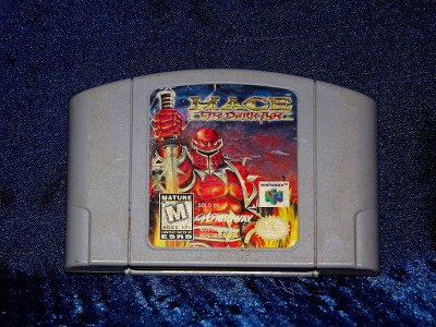 Nintendo 64 Game: Mace: The Dark Age