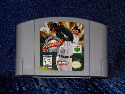 Nintendo 64 Game: Major League Baseball featuring Ken Griffey Jr