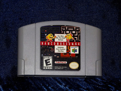 Nintendo 64 Game: Namco Museum 64 with Box and Manual