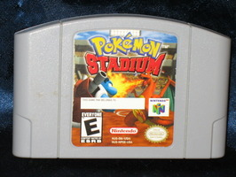 Nintendo 64 Game: Pokemon Stadium