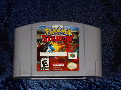 Nintendo 64 Game: Pokemon Stadium with Box