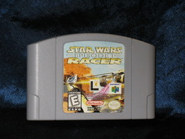Nintendo 64 Game: Star Wars: Episode I Racer