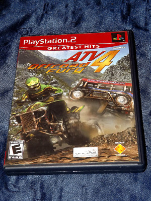 Playstation 2 Game: ATV Offroad Fury 4