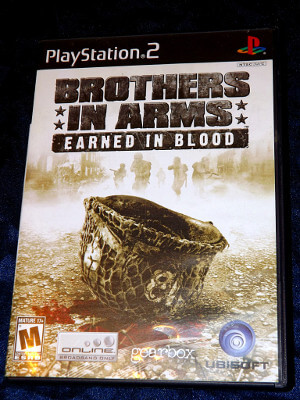 Playstation 2 Game: Brothers in Arms: Earned in Blood