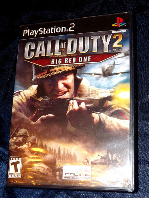 Playstation 2 Game: Call of Duty 2: Big Red One
