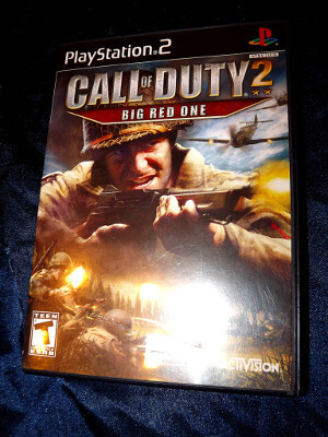 Playstation 2 Game: Call of Duty 2: Big Red One (From set)