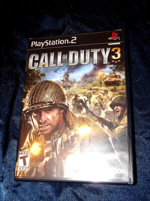 Playstation 2 Game: Call of Duty 3