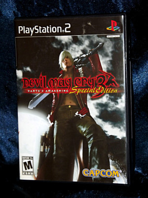 Playstation 2 Game: Devil May Cry 3: Dante's Awakening (Special Edition)