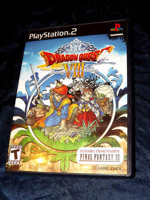Playstation 2 Game: Dragon Quest VIII: Journey of the Cursed King