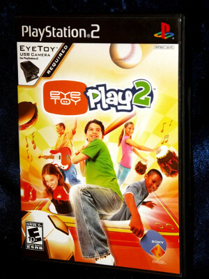 Playstation 2 Game: Eye Toy Play 2