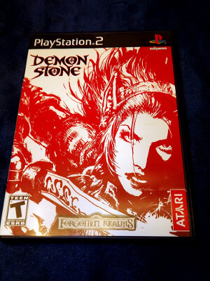 Playstation 2 Game: Forgotten Realms: Demon Stone